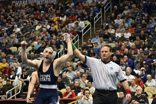 Penn State Wrestling's Nick Lee Ready to Take Next Step